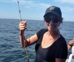 Jocelyn fishing